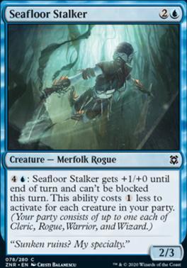 Zendikar Rising: Seafloor Stalker