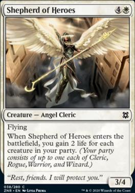 Zendikar Rising: Shepherd of Heroes