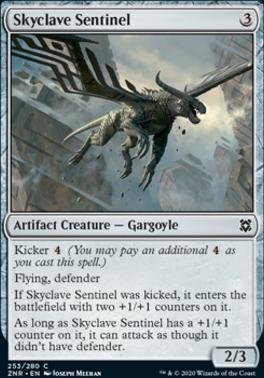 Zendikar Rising Foil: Skyclave Sentinel