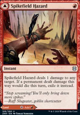 Zendikar Rising: Spikefield Hazard