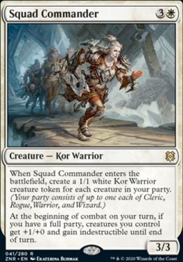 Zendikar Rising: Squad Commander
