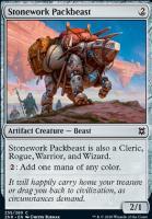 Zendikar Rising: Stonework Packbeast