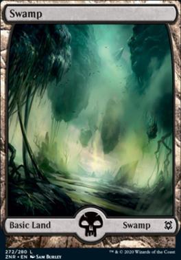 Zendikar Rising: Swamp (272)