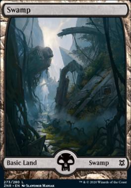 Zendikar Rising: Swamp (273)