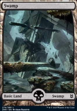 Zendikar Rising: Swamp (274)