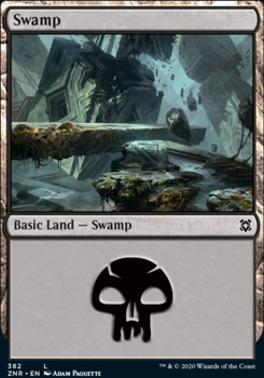 Zendikar Rising: Swamp (382)