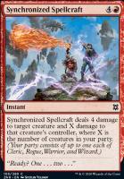 Zendikar Rising Foil: Synchronized Spellcraft