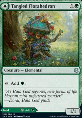Zendikar Rising: Tangled Florahedron