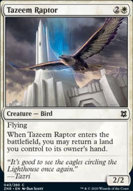 Zendikar Rising: Tazeem Raptor
