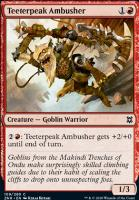Zendikar Rising: Teeterpeak Ambusher