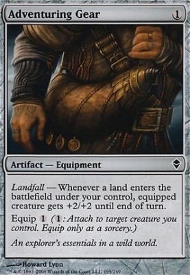 Zendikar Foil: Adventuring Gear
