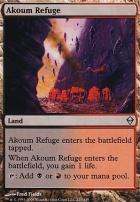 Zendikar Foil: Akoum Refuge