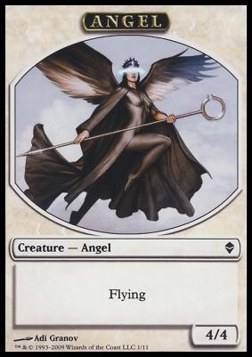 Zendikar: Angel Token