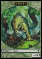 Zendikar: Beast Token