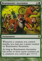 Zendikar Foil: Beastmaster Ascension