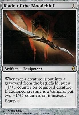 Zendikar: Blade of the Bloodchief