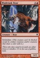 Zendikar Foil: Bladetusk Boar