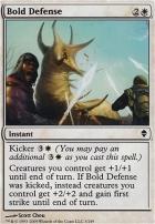 Zendikar Foil: Bold Defense