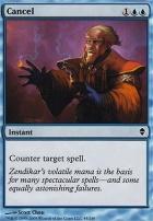 Zendikar Foil: Cancel