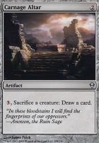 Zendikar Foil: Carnage Altar