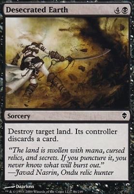 Zendikar: Desecrated Earth