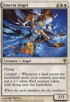 Zendikar Foil: Emeria Angel