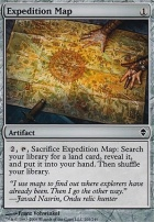 Zendikar Foil: Expedition Map