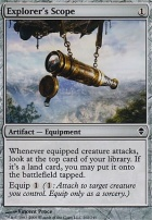 Zendikar Foil: Explorer's Scope