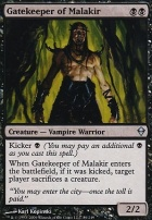 Zendikar: Gatekeeper of Malakir