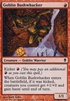 Zendikar: Goblin Bushwhacker