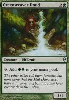 Zendikar: Greenweaver Druid