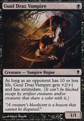 Zendikar: Guul Draz Vampire