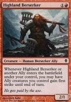Zendikar: Highland Berserker