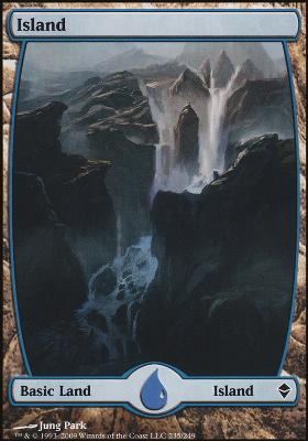 Zendikar: Island (235 B - Full Art)