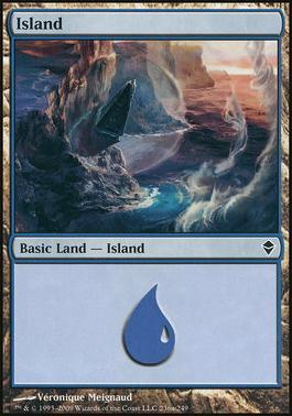 Zendikar: Island (236 C - Non-Full Art)