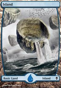Zendikar: Island (237 D - Full Art)