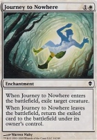Zendikar Foil: Journey to Nowhere