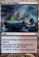 Zendikar Foil: Jwar Isle Refuge