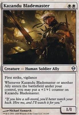 Zendikar: Kazandu Blademaster
