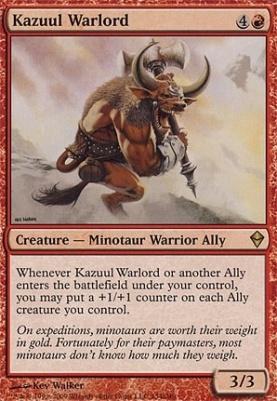 Zendikar: Kazuul Warlord