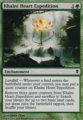 Zendikar: Khalni Heart Expedition