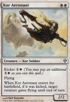 Zendikar Foil: Kor Aeronaut