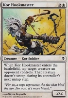 Zendikar Foil: Kor Hookmaster