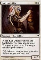 Zendikar: Kor Outfitter