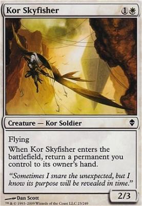 Zendikar: Kor Skyfisher