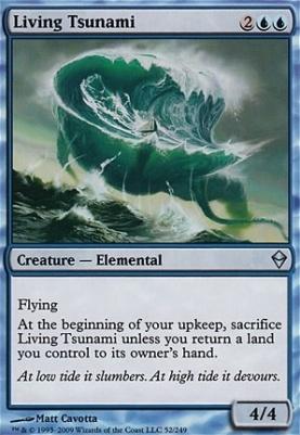 Zendikar Foil: Living Tsunami