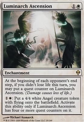 Zendikar Foil: Luminarch Ascension