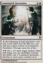 Zendikar Foil: Luminarch Ascension