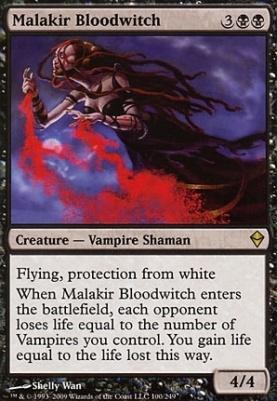 Zendikar: Malakir Bloodwitch