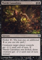 Zendikar Foil: Marsh Casualties